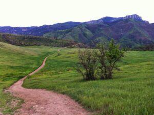 View of Boney Mountain from Satwiwa